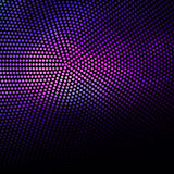 Abstract purple dots and black background Stock Photo