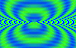 Abstract ripple vibration Stock Images