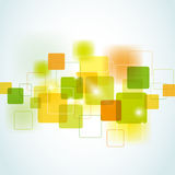 Abstract square background Stock Images
