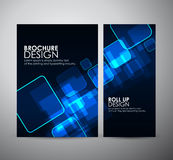 Abstract square. Brochure business design template or roll up. Stock Photography