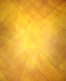 Abstract triangle pattern shiny gold luxury background Stock Photo