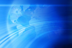 Abstract World Map Globe Background Royalty Free Stock Photos