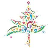 Abstract Xmas tree Royalty Free Stock Images