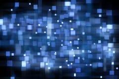 Abstrakt bakgrund för Blue Arkivfoton