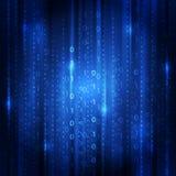 Abstrakt begrepp för bakgrund för digital teknologi för vektor Arkivfoton