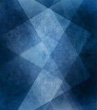 Abstrakt blå gjorde randig modell och kvarter för bakgrund vit i diagonala linjer med tappningblåtttextur Royaltyfri Foto