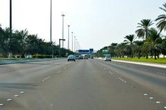 Abu Dhabi die Hauptstadt von UAE Stockbilder