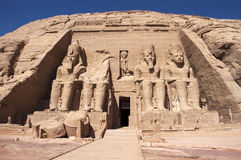Abu Simbel, Ancient Egypt, Vacation Travel Stock Photo