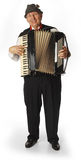 Accordion player Stock Photography