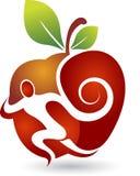 Active apple logo Stock Photography