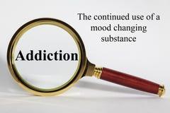 Addiction Concept Royalty Free Stock Photos