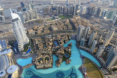 The Address Downtown Dubai Stock Images