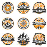 Adventure Badge Royalty Free Stock Images