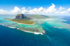 Aerial Mauritius Stock Photography