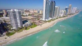 Aerial video Sunny Isles Beach FL stock video