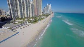 Aerial video Sunny Isles Beach FL stock video footage