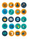 Affärs- och finanssymbol Arkivbilder
