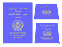 Afghanistan Passport Stock Images