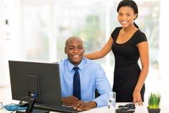 African business executive Stock Photography