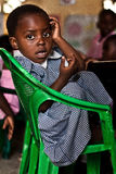 african child at school Royalty Free Stock Images