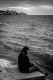 Age Of Loneliness Royalty Free Stock Photo