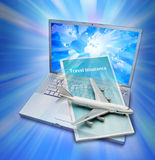 Agency Online Travel Insurance Royalty Free Stock Photography