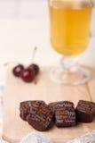 Ainda vida com doces de chocolate Foto de Stock