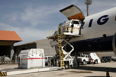 Air cargo Royalty Free Stock Photography