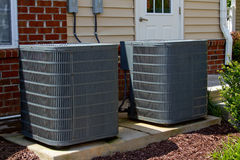 Air Conditioning Units Stock Images