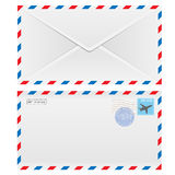 Air mail envelope Stock Image