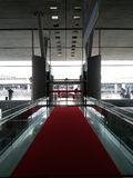 Charles De Gaulle airport in Paris Stock Images