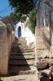 Aléia em uma vila mediterrânea Imagem de Stock