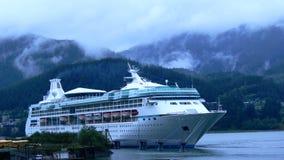 alaska statek wycieczkowy Obrazy Royalty Free