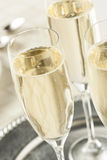 Alcoholic Bubbly Champagne for New Years Stock Image