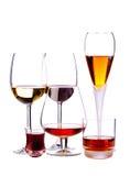 Alcoholic drinks Stock Image