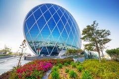 Aldar headquarters building in Abu Dhabi, UAE Stock Photos