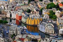 Alesund, Noorwegen Royalty-vrije Stock Fotografie