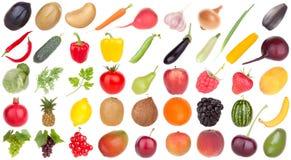 Alimento das frutas e verdura Foto de Stock