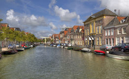 Alkmaar Canal, Holland Royalty Free Stock Image