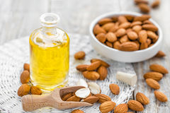 Almond oil Royalty Free Stock Image
