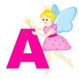 Alphabet letter A Stock Photography