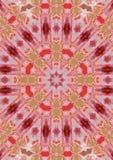 Amarilis mandala Royalty Free Stock Images