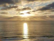 Amazing sunset captured in San Diego Stock Photo