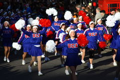 American Cheerleaders at the London Parade. Stock Images