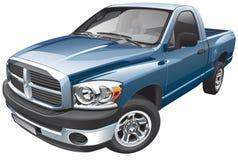 American full-size pickup Stock Photos