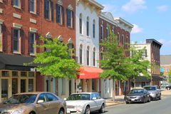 American Small Town Stock Images