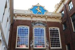 Ancient City Hall in Leeuwarden, Holland Stock Photo