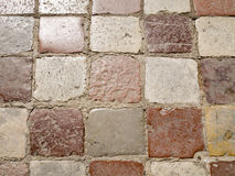 Ancient pavement Stock Images
