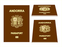 Andorra-Pass Stockfoto