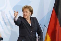 Angela Merkel Royalty-vrije Stock Afbeeldingen